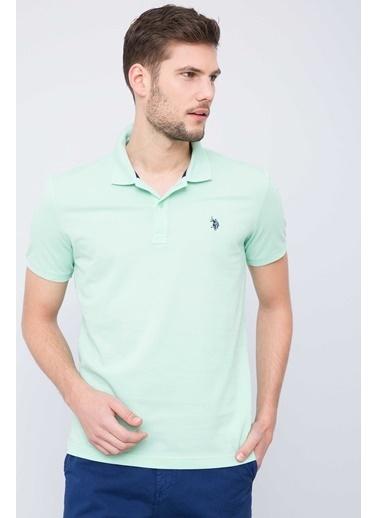 U.S. Polo Assn. Polo Yaka Tişört Yeşil
